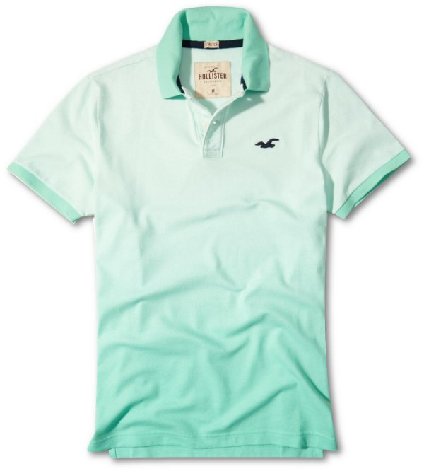 Camisa Polo Hollister Masculina degradê 2018