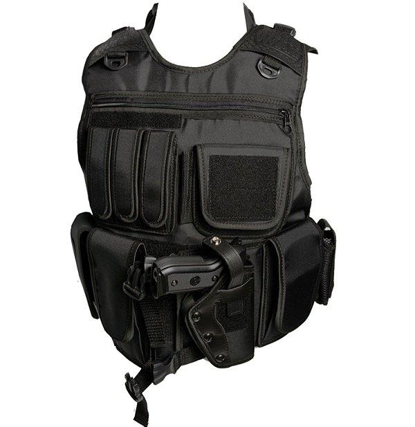 Capa de Colete Tático SWAT