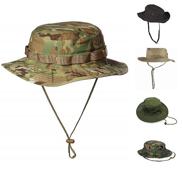Chapeu Selva - Boonie Hat - Chapeu Militar