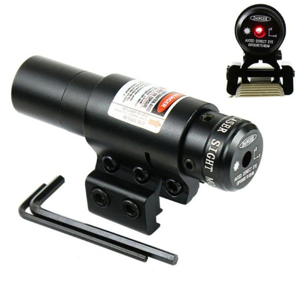 Red Dot Mira Laser Tática com acionamento remoto Trilho 11mm 20mm 22mm