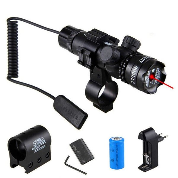 Red Dot Laser Sight - Acionamento Remoto - Trilho 11mm 20mm 22mm