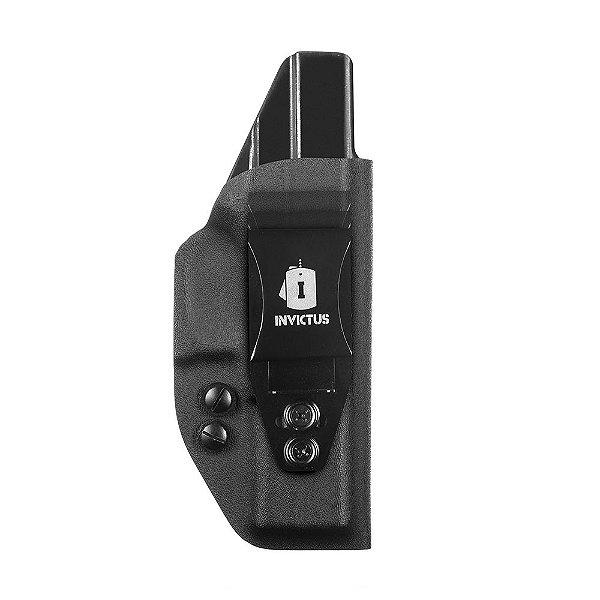 Coldre Velado Invictus Kydex Standard Pistolas Glock G17 – G21 – G22