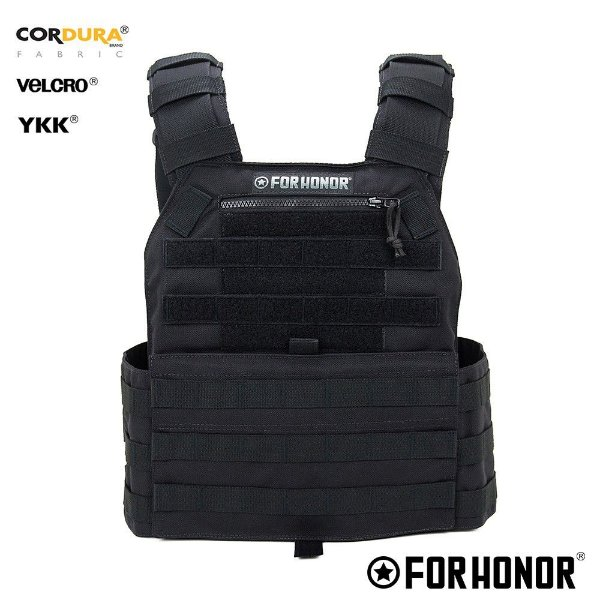 Colete Plate Carrier For Honor Preto