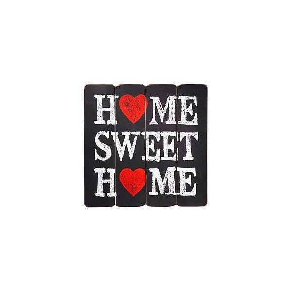 Placa decorativa - Home sweet home