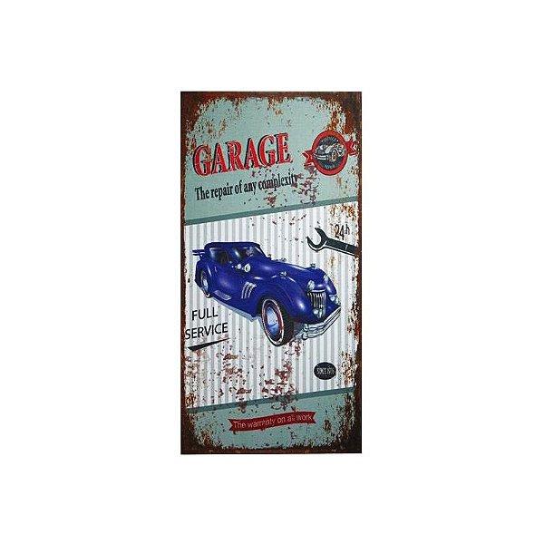 Placa decorativa - Garage full service
