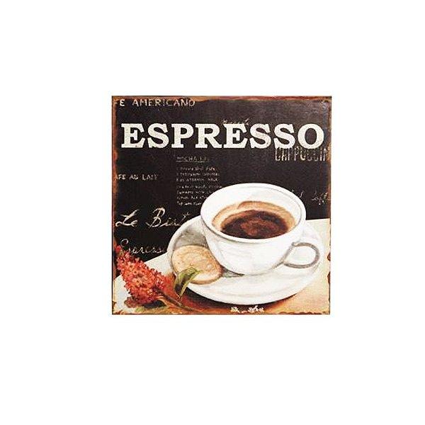Placa decorativa - Espresso