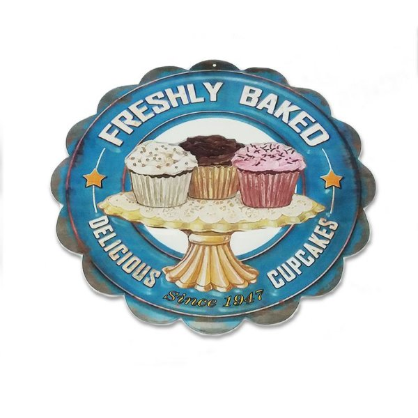 Placa decorativa - Freshly baked