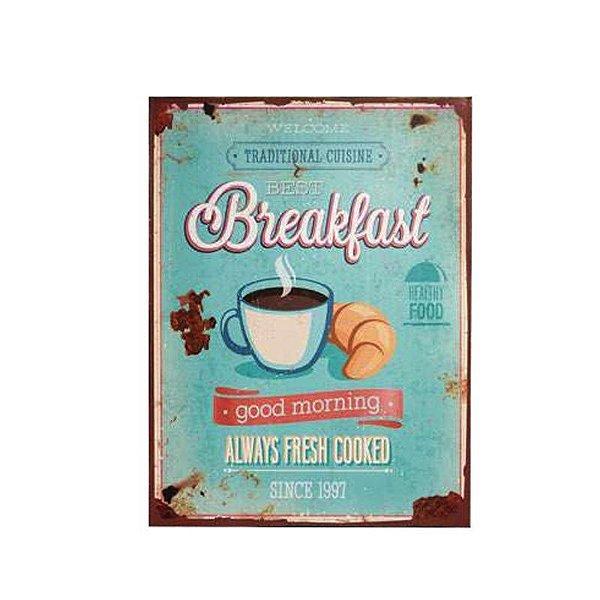 Placa decorativa - Traditional cuisine breakfast