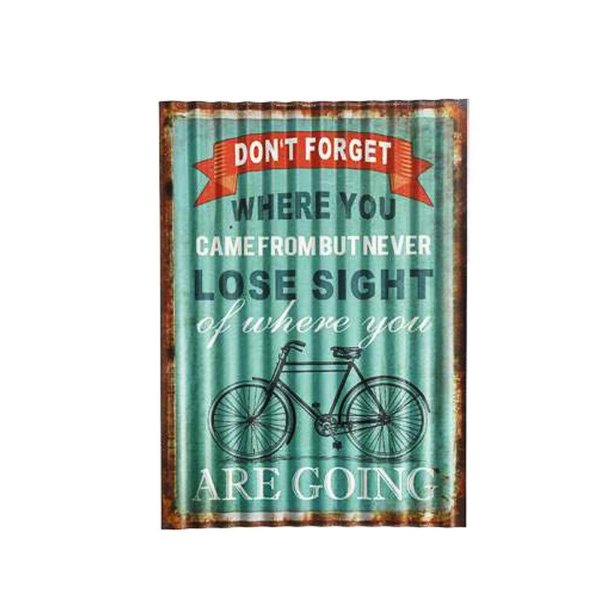 Placa decorativa - Lose sight