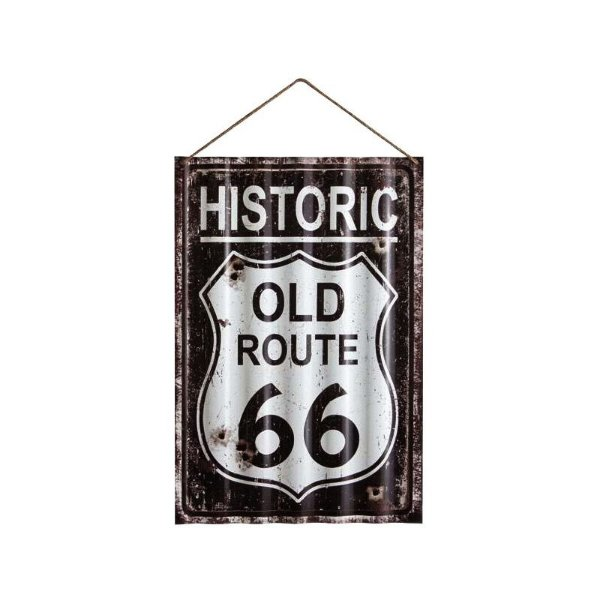Placa decorativa - Historic old route 66