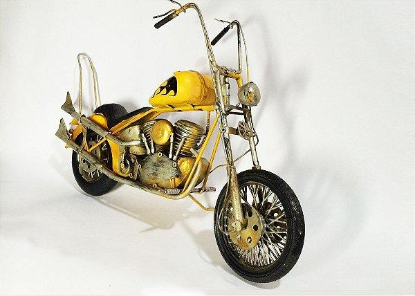 Miniatura Motocicleta chopper