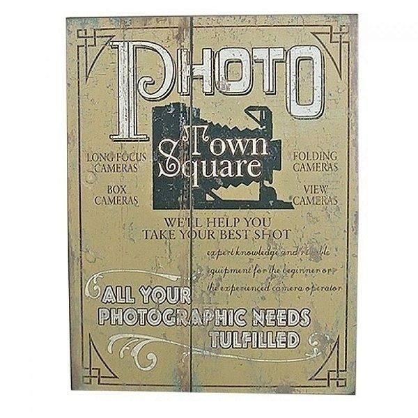 Quadro - Photo Town square