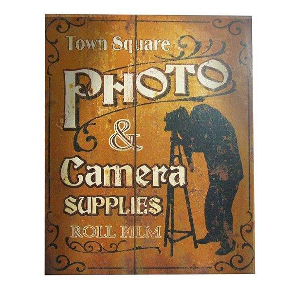 Quadro decorativo - Town square photo & camera supplies