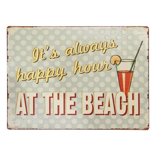 Placa decorativa - At the beach