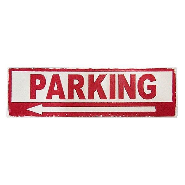 Placa decorativa - Parking