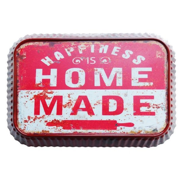 Placa decorativa - Happiness is home made
