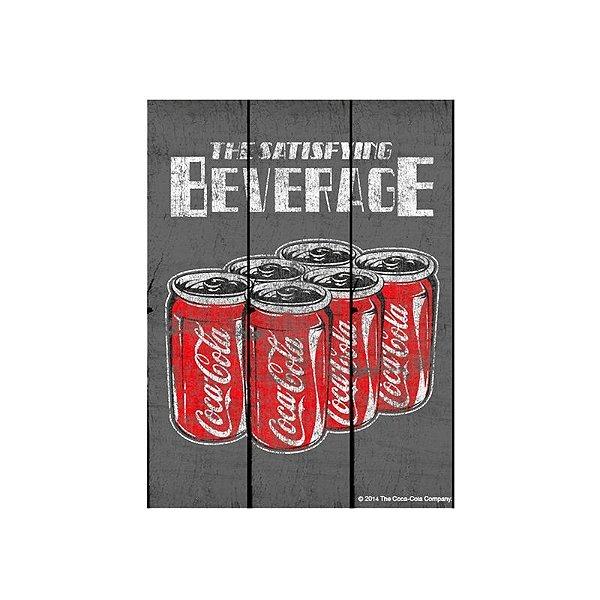 Placa decorativa - Coca-Cola
