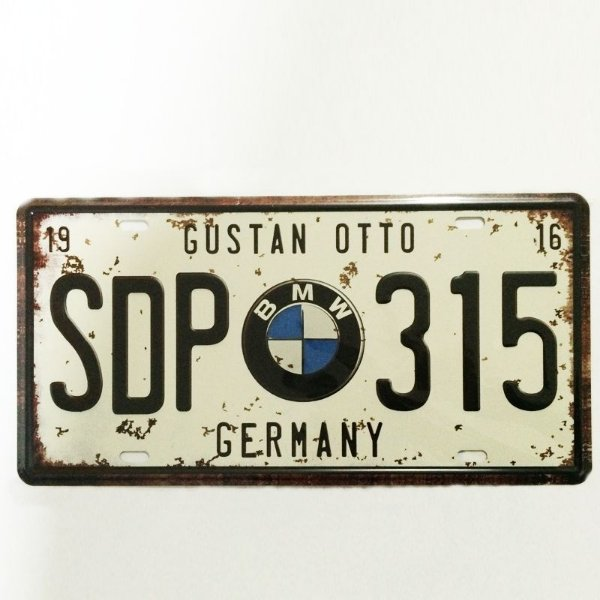 Placa decorativa - BMW