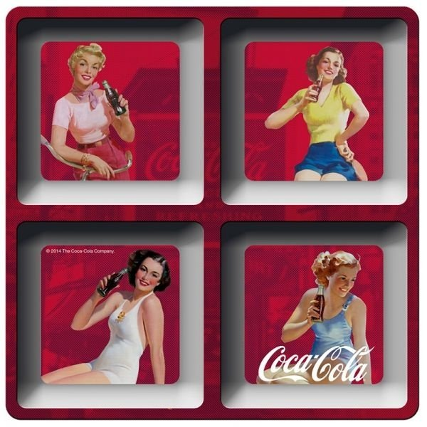 Petisqueira - Coca-Cola pin ups