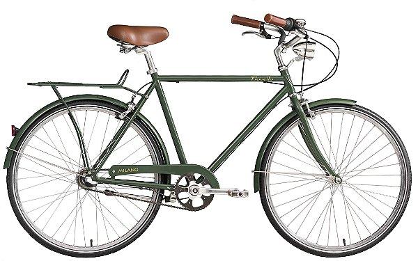 Bicicleta retrô Novello - Milano verde