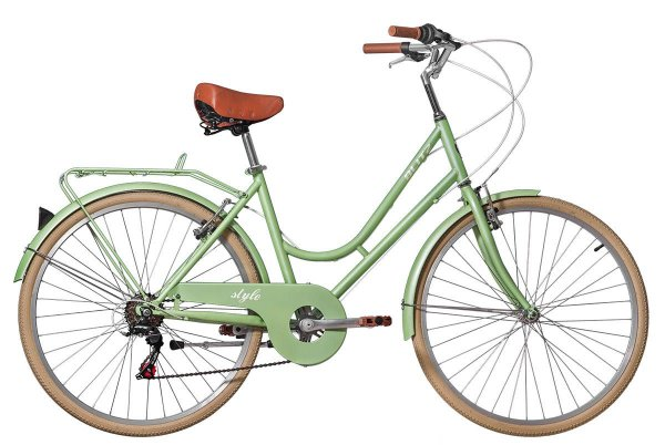 Bicicleta retrô Blitz - Style verde