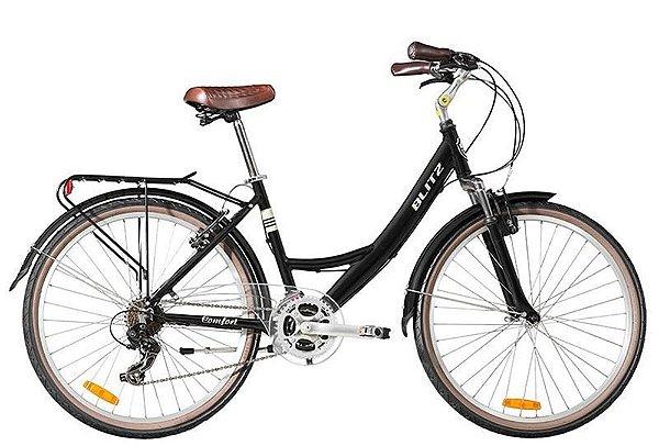 Bicicleta retrô Blitz - Comfort preta