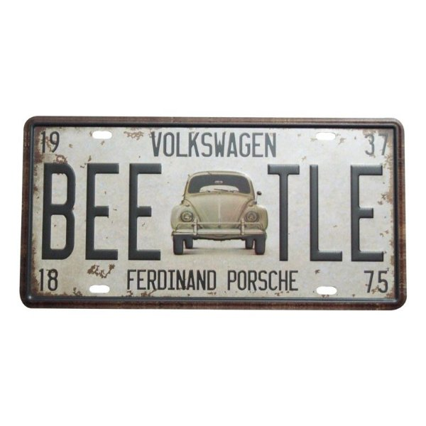 Placa decorativa - Volkswagen