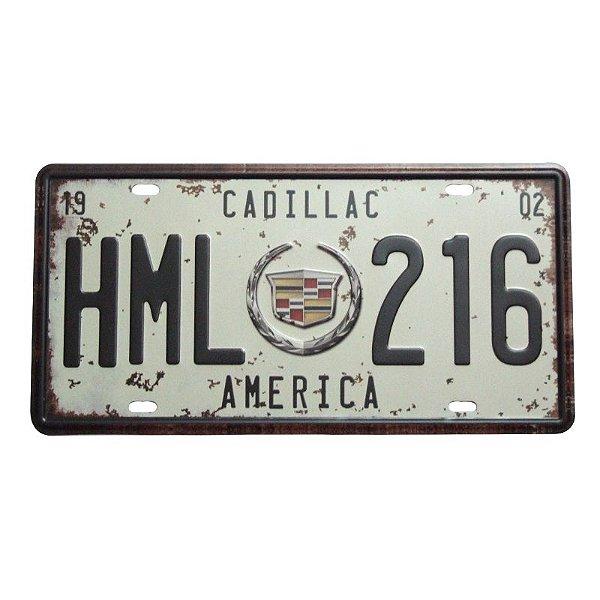 Placa decorativa - Cadillac