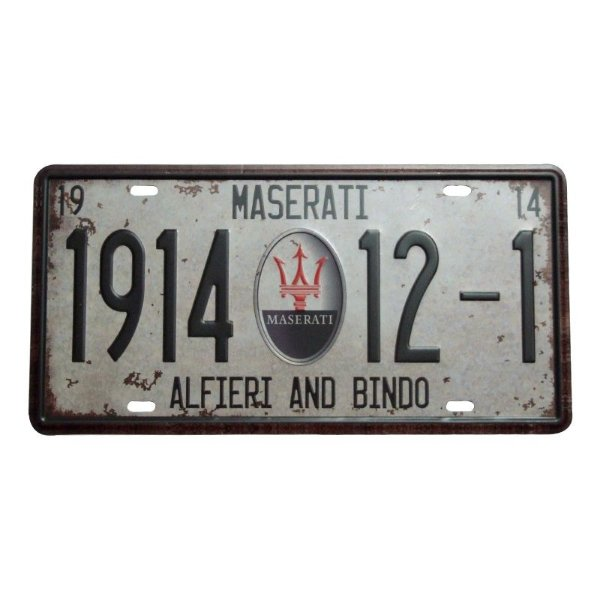 Placa decorativa - Maserati