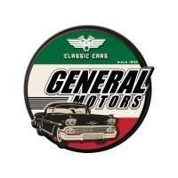 Placa decorativa - GM Classic Cars
