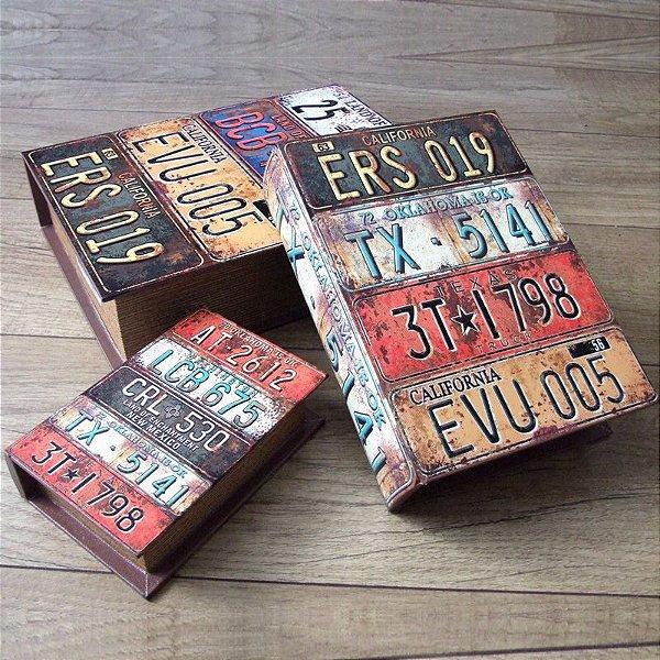 Kit livro caixa - Placas