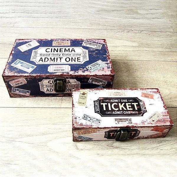 Kit caixa - Ticket