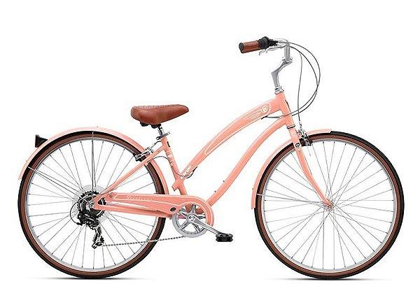 Bicicleta retrô Nirve - Starliner Ladies Orange Cream