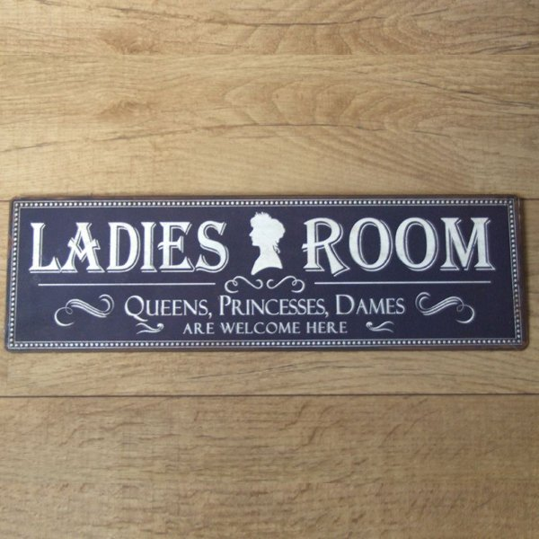 Placa decorativa - Ladies