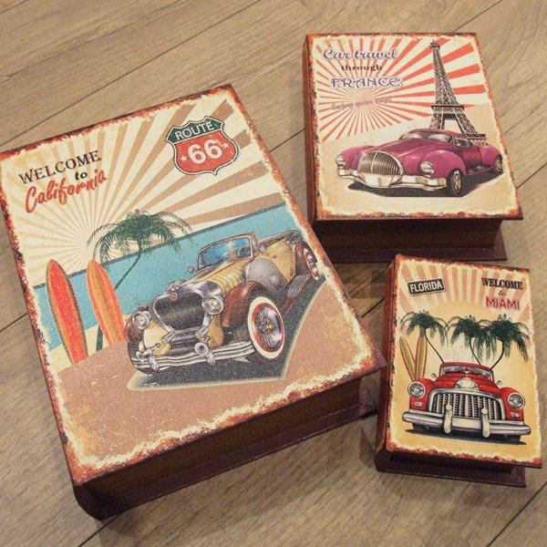 kit livro caixa - Travels