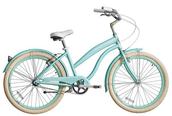 Bicicleta retrô Blitz - Wind Verde
