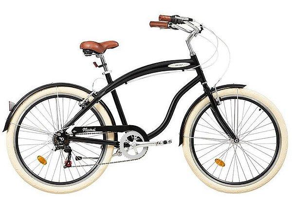 Bicicleta retrô Blitz - Mistral preta