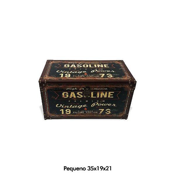 Baú Gasoline vintage - pequeno