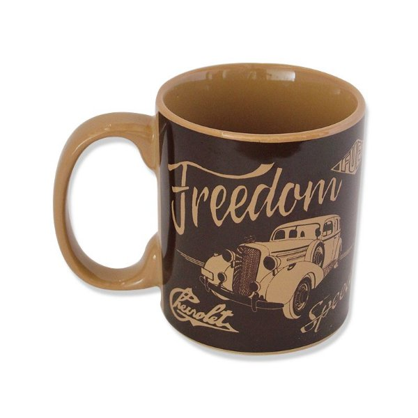 Caneca - GM Vintage car freedom