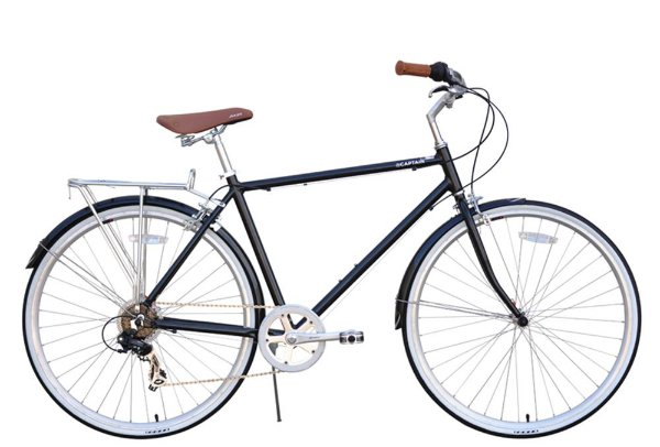 Bicicleta retrô XDS - Captain Gloss Black