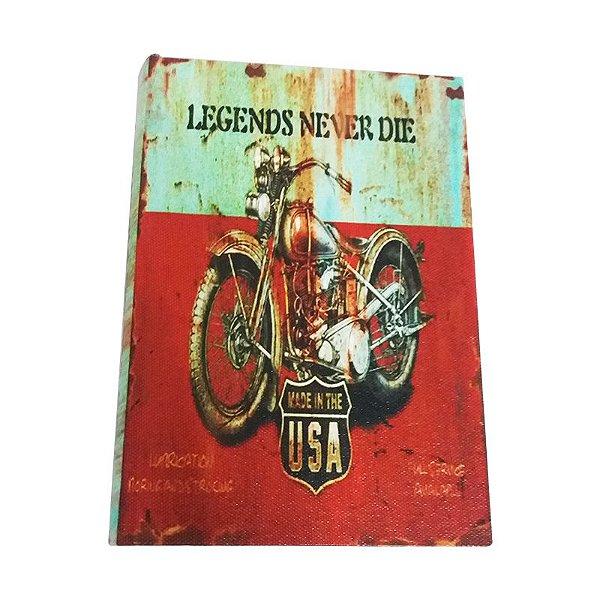 Livro Caixa - Legends never die