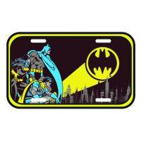 Placa decortaiva - Batman sinal alerta