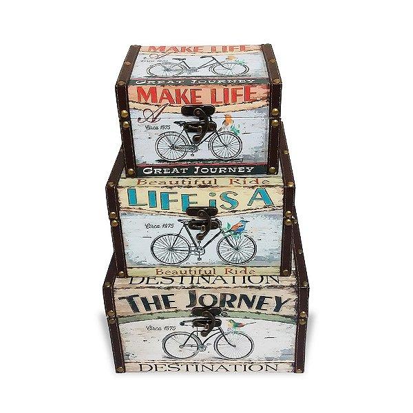 Kit baú - Bicicleta
