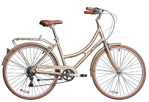 Bicicleta retrô Blitz - Roma dourada
