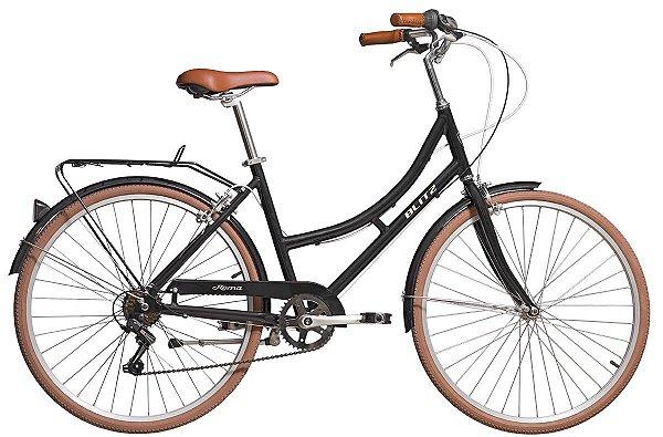 Bicicleta retrô Blitz - Roma preta