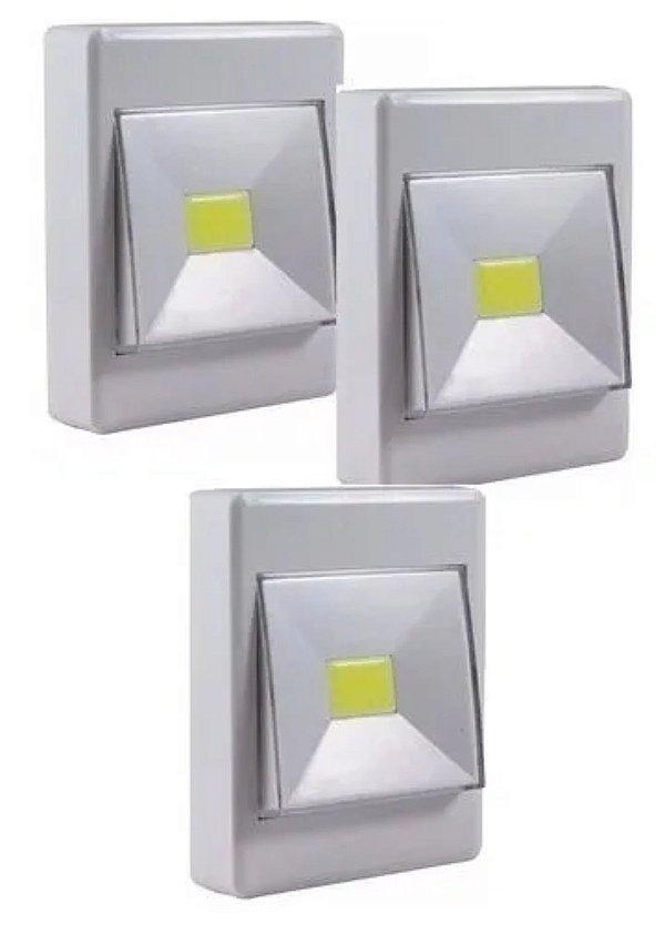 Luminária led a pilha (unidade)