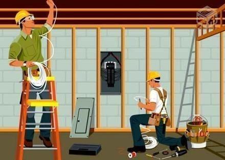 Instalações elétricas, antenas ou CFTV