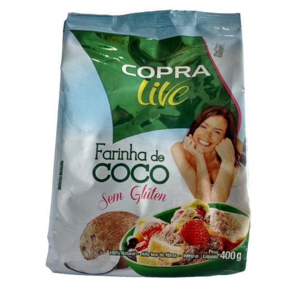 FARINHA DE COCO (400g)