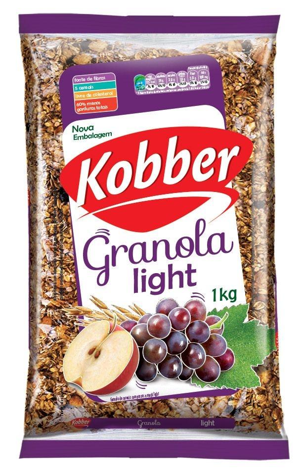 GRANOLA de cereais KOBBER light (1kg)