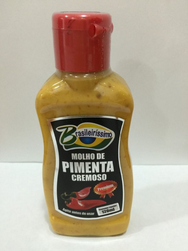MOLHO de pimenta BRASILERISSIMO (120ml)